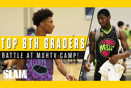 Mikey Williams and Elijah Fisher Fight for 1 Ranking at MSHTV Camp 🔥