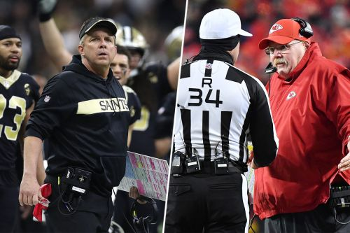Which blown call was more egregious: Rams interference or Chiefs roughing?
