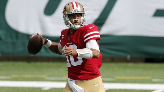 Is Jimmy Garoppolo starting vs. Giants in Week 3? Injury update for 49ers QB