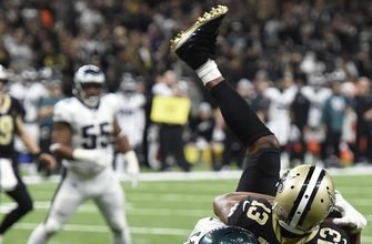 Eagles rack up 150 yards of offense and 14 points before Saints get a yard or a point