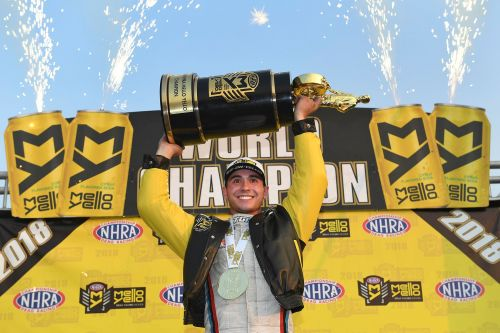 J.R. Todd wins first NHRA Funny Car season title