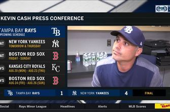 Kevin Cash says Rays couldn't make pitching adjustment
