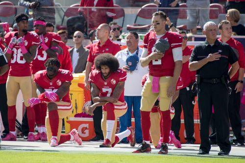 Opinion: NFL's gestures in confronting racism are meaningless so long as Colin Kaepernick remains unsigned