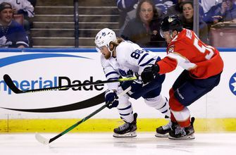 Panthers fall at home to Maple Leafs in crucial Atlantic-Division loss