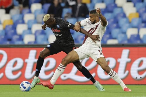 Napoli extends perfect start with Osimhen's header