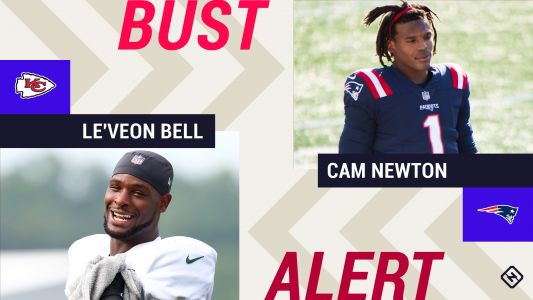 Week 7 Fantasy Busts: Le'Veon Bell, Cam Newton among risky 'starts'