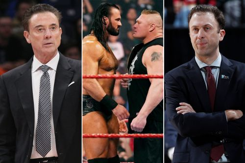 Rick Pitino makes bet with son on Brock Lesnar-Drew McIntyre WrestleMania 36 match