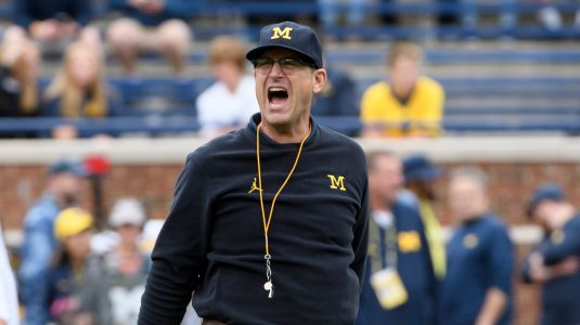 Harbaugh turns Michigan's losses into a wearable for players