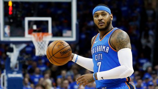 Carmelo Anthony apologized to OKC for not winning title