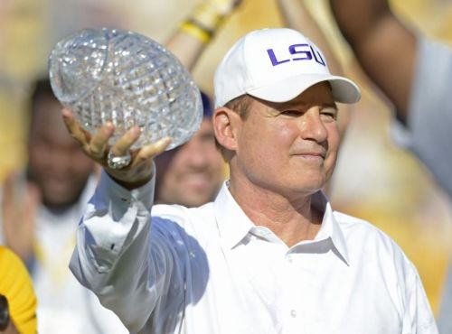 Where does LSU's national championship rank among wins in last 15 years? The bottom, apparently