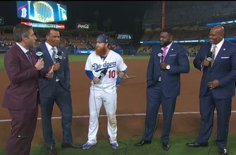 Justin Turner joins the MLB on FOX crew to break down an absolutely epic World Series Game 3 | MLB on FOX