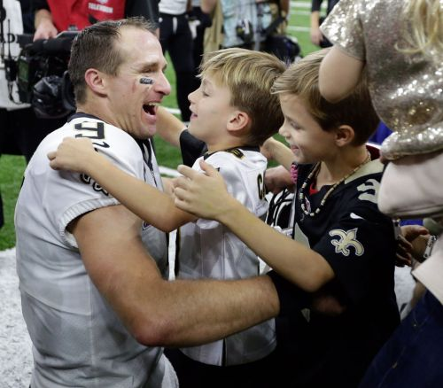 Drew Brees had 'perfect night' celebrating passing yardage record