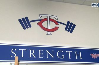 Go inside the Twins' weight room