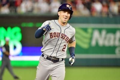 Bregman, Astros begin second half against Angels