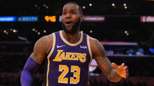 LeBron James 'couldn't care less' about personal narrative as Lakers win
