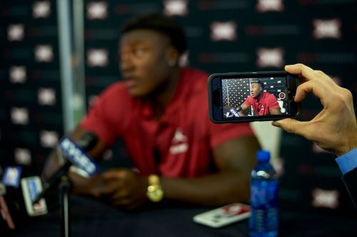 Herman's Horns part of 2nd day of Big 12 football media days