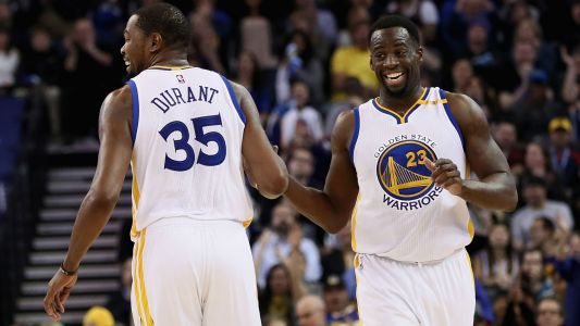 Warriors vs. Rockets: Draymond Green's mother blames Kevin Durant for team's Game 2 struggles