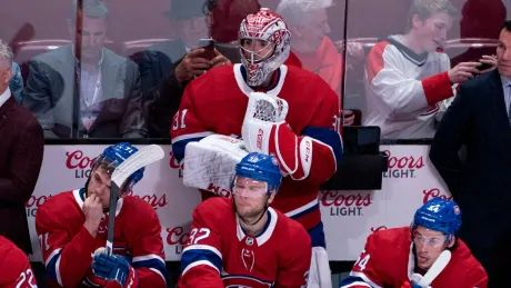 Canadiens concede 4 in final frame as Rangers rally to road victory