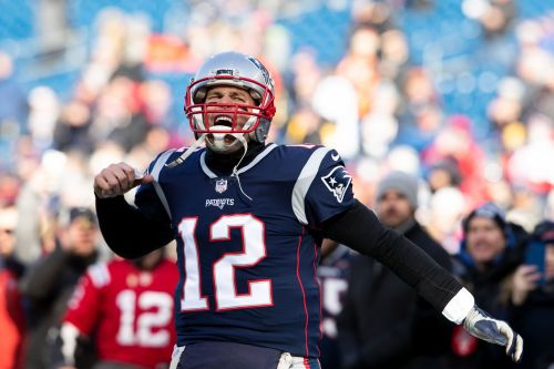 Tom Brady has the Patriots in another AFC Championship Game, and there's still a chip on his shoulder