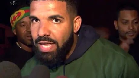 Drake gives passionate speech following Raptors' Game 5 win