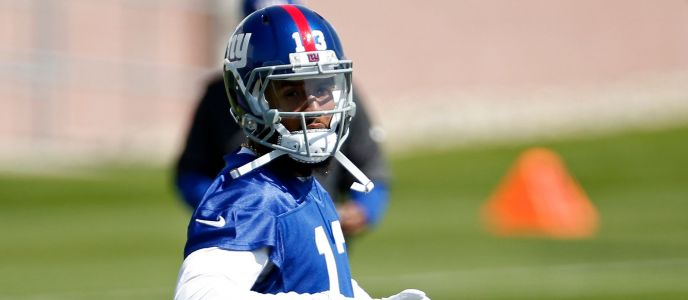 Odell Beckham Jr. launches throw 80-plus yards