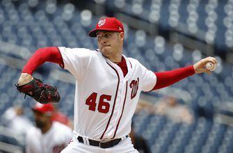 Corbin pitches Nats past Phillies 6-2 in doubleheader opener