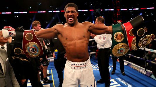 Anthony Joshua fight schedule: How to watch all 22 of his bouts on DAZN