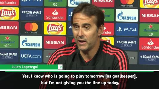 Keylor or Thibaut? I know, but I won't say - Lopetegui