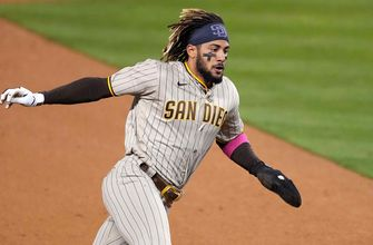 Fernando Tatis Jr. bats in game-winning run as Padres edge Dodgers, 3-2