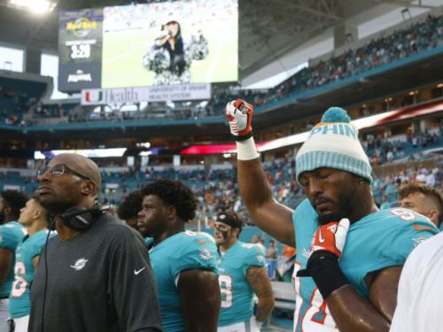 NFL players kneel, raise fists during anthem in renewed slate of protests as pre-season begins