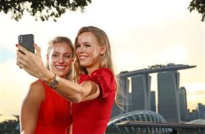 Photos: Top eight arrive in Singapore ahead of the 2018 WTA Finals showdown