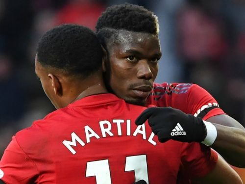 Pogba and Martial withdraw from France squad through injury as Lacazette recalled