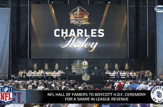 NFL Hall of Famers to boycott HOF ceremony for share in league revenue