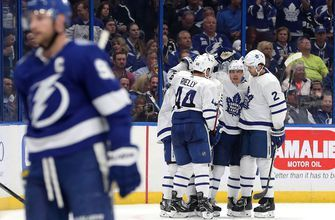 Brayden Point scores his 30th goal of season in Lightning's 4-2 loss to Maple Leafs