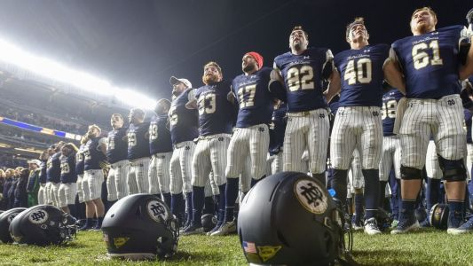 Notre Dame needs to navigate one more November game to reach its destination - the College Football Playoff