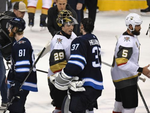 Fleury outshines Hellebuyck as Golden Knights oust Jets to advance to Stanley Cup final