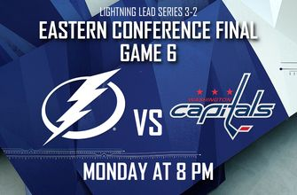 Game 6 preview: Lightning try to close out Capitals, advance to Stanley Cup Final