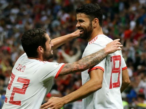 Hierro lauds Spain's 'committed' match-winner Diego Costa
