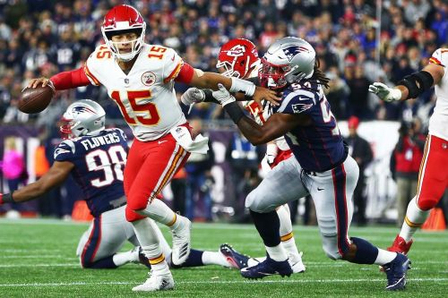 Chiefs' Patrick Mahomes draws Belichick's praise, which might be scary