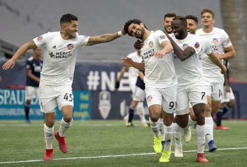 FC Cincinnati romps over New England Revolution in a dominant 2-0 victory