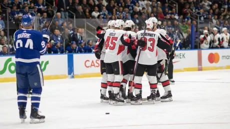 Senators win defensive battle against Leafs in pre-season opener
