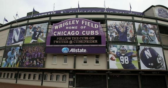 College football bowl game idea at Wrigley failed because Chicago is cold