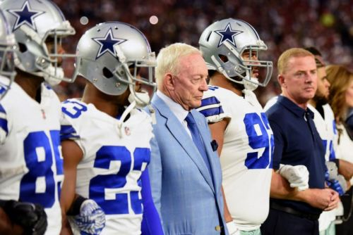 Cowboys' Jerry Jones doesn't see punishment for RB Ezekiel Elliott