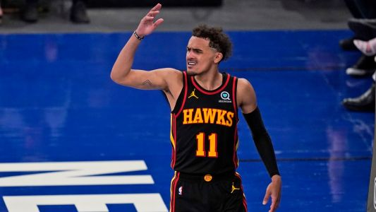 Hawks' Trae Young responds to rude welcome from Knicks fans with explosive start to Game 2