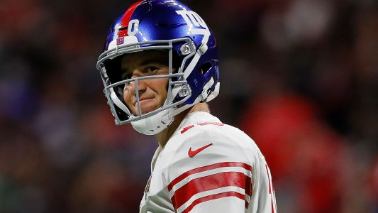Eli Manning only focusing on Giants' Monday night game: 'There's urgency to get things going'