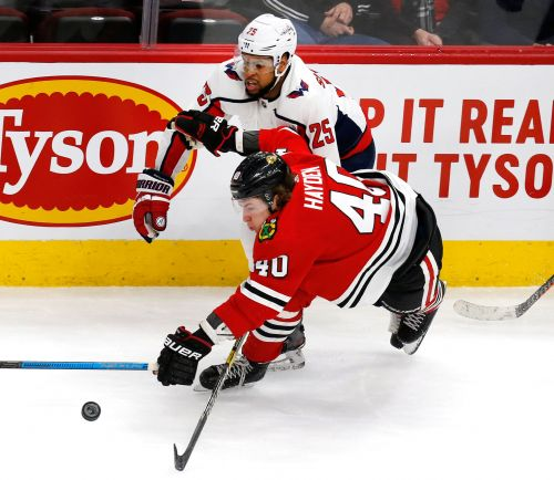 Capitals make statement, start Devante Smith-Pelly in Chicago after 2018 racial taunts