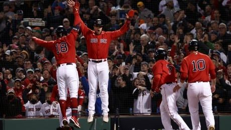Schwarber, Red Sox slam Astros to take 2-1 ALCS lead