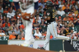 Josh Bell hits 22nd homer of the year in 8-1 win over Astros