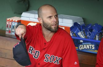 Red Sox 2B Pedroia returns to lineup after knee surgery