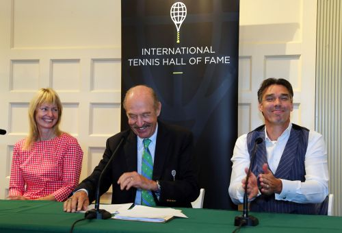 Michael Stich, Helena Sukova inducted into tennis hall